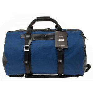 NWT Michael Kors Kent Convertible Backpack Duffel